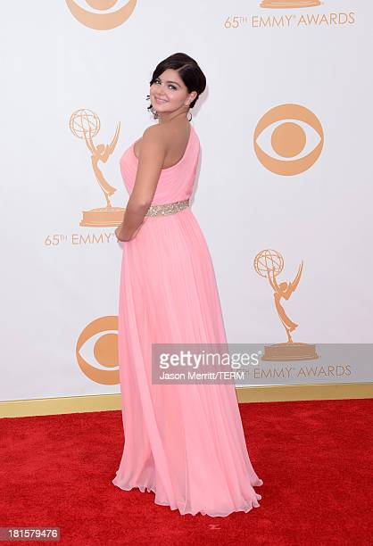 Actress Ariel Winter arrives at the 65th Annual Primetime Emmy Awards held at Nokia Theatre LA Live on September 22 2013 in Los Angeles California