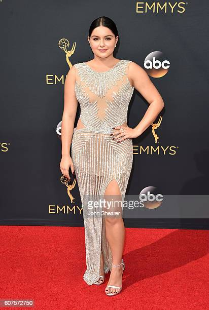 Actress Ariel Winter arrives at the 68th Annual Primetime Emmy Awards at Microsoft Theater on September 18 2016 in Los Angeles California