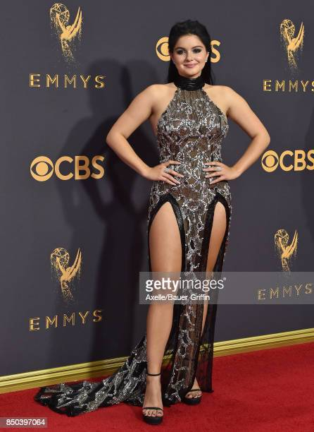 Actress Ariel Winter arrives at the 69th Annual Primetime Emmy Awards at Microsoft Theater on September 17 2017 in Los Angeles California