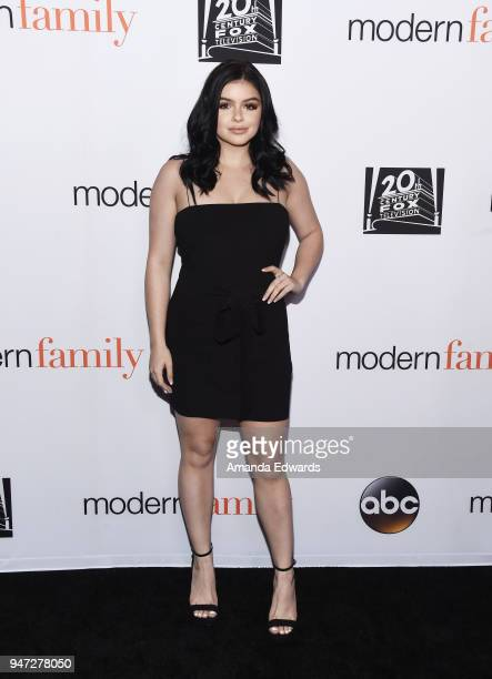 Actress Ariel Winter arrives at the FYC Event for ABC's 'Modern Family' at Avalon on April 16 2018 in Hollywood California