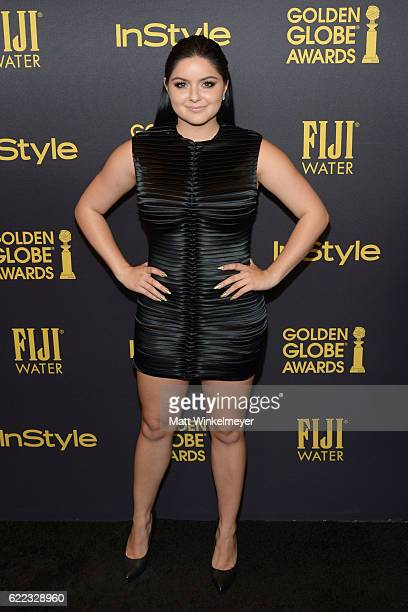 Actress Ariel Winter arrives at the Hollywood Foreign Press Association and InStyle celebrate the 2017 Golden Globe Award Season at Catch LA on...