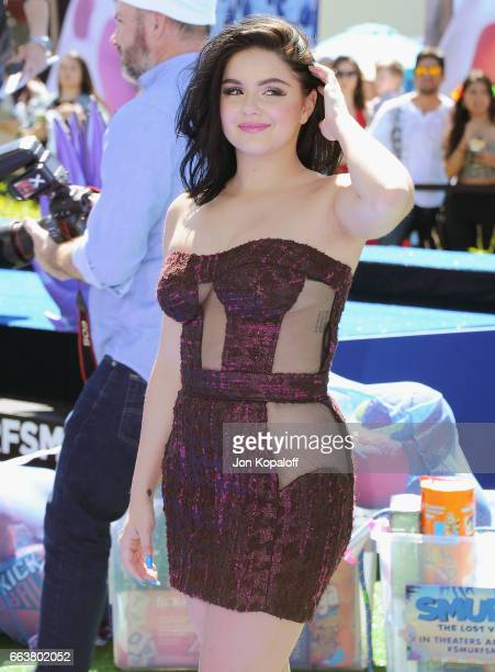 Actress Ariel Winter arrives at the Los Angeles Premiere 'Smurfs The Lost Village' at ArcLight Cinemas on April 1 2017 in Culver City California