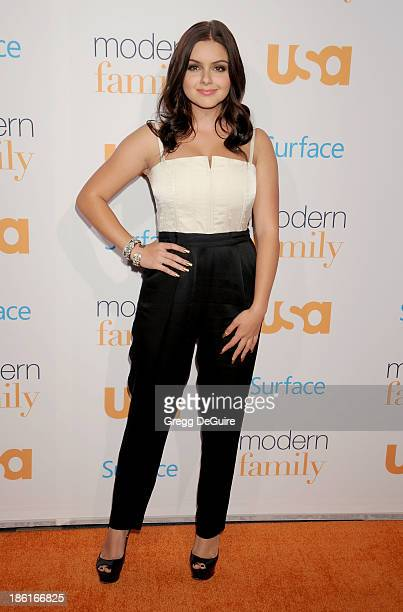 Actress Ariel Winter arrives at the Modern Family Fan Appreciation Day at Westwood Village Theatre on October 28 2013 in Westwood California
