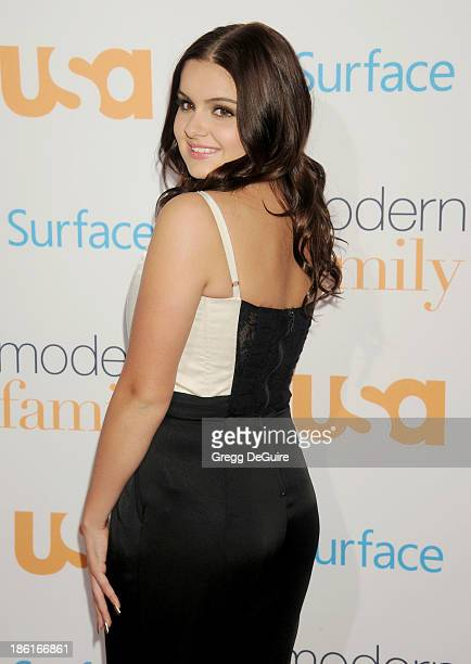 Actress Ariel Winter arrives at the 'Modern Family' Fan Appreciation Day at Westwood Village Theatre on October 28 2013 in Westwood California