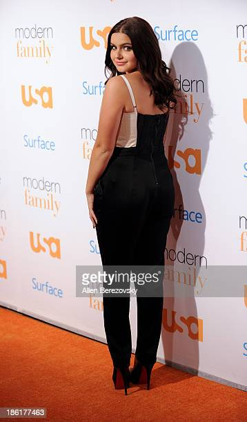 Actress Ariel Winter arrives at the Modern Family Fan Appreciation Day hosted by USA Network at Westwood Village on October 28 2013 in Los Angeles...