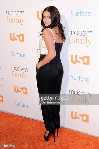 Actress Ariel Winter arrives at the 'Modern Family' Fan Appreciation Day hosted by USA Network at Westwood Village on October 28 2013 in Los Angeles...