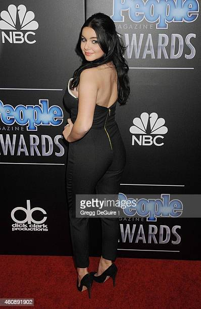 Actress Ariel Winter arrives at The PEOPLE Magazine Awards at The Beverly Hilton Hotel on December 18 2014 in Beverly Hills California