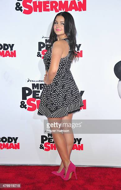 Actress Ariel Winter arrives at the Premiere of Twentieth Century Fox and DreamWorks Animation's Mr Peabody Sherman at Regency Village Theatre on...