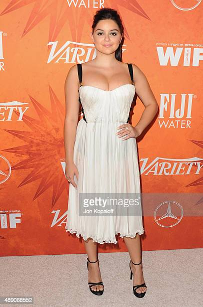 Actress Ariel Winter arrives at the Variety And Women In Film Annual Pre-Emmy Celebration at Gracias Madre on September 18, 2015 in West Hollywood,...