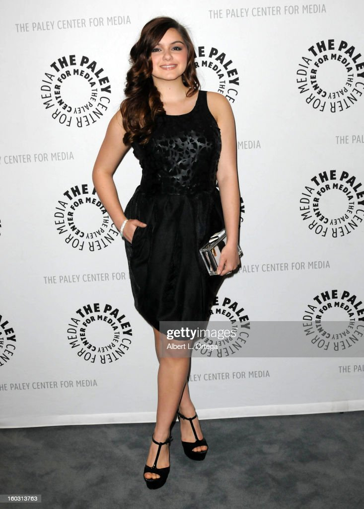 Actress Ariel Winter arrives for The Paley Center for Media & Warner Bros. Home Entertainment Premiere of 'Batman: The Dark Knight Returns, Part 2' held at The Paley Center for Media on January 28, 2013 in Beverly Hills, California.