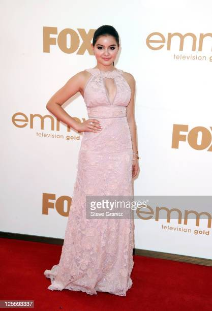 Actress Ariel Winter arrives to the 63rd Primetime Emmy Awards at the Nokia Theatre LA Live on September 18 2011 in Los Angeles United States