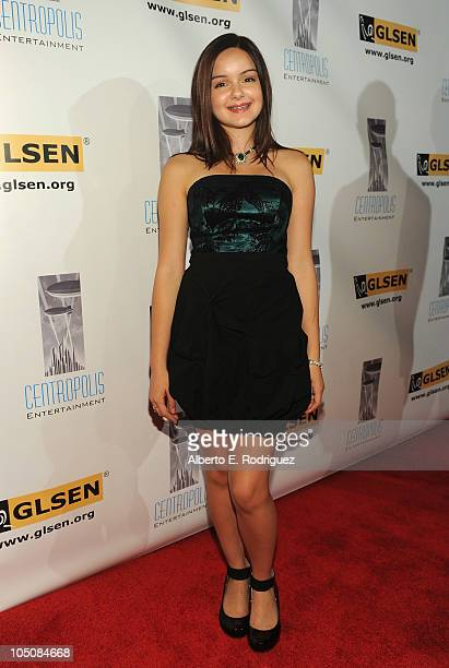 Actress Ariel Winter arrives to the 6th Annual GLSEN Respect Awards at the Beverly Hills Hotel on October 8 2010 in Beverly Hills California