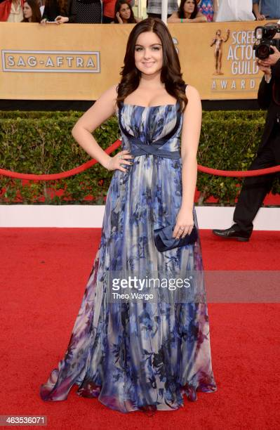 Actress Ariel Winter attends 20th Annual Screen Actors Guild Awards at The Shrine Auditorium on January 18 2014 in Los Angeles California