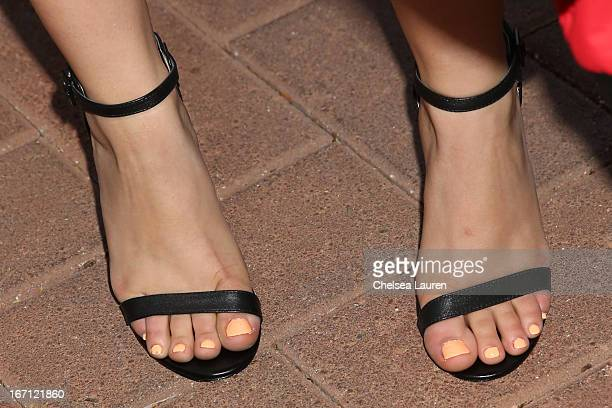 Actress Ariel Winter attends City Year Los Angeles' spring break destination education at Sony Pictures Studios on April 20 2013 in Culver City...