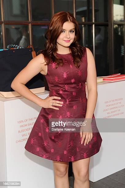 Actress Ariel Winter attends Coach's 3rd Annual Evening of Cocktails and Shopping to Benefit the Children's Defense Fund hosted by Katie McGrath JJ...