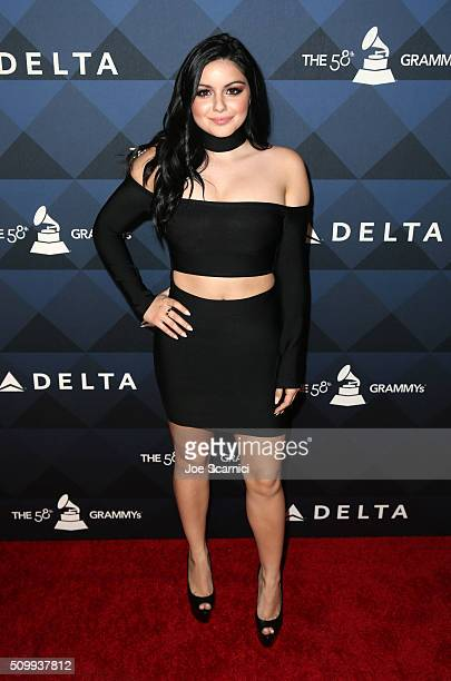 Actress Ariel Winter attends Delta Air Lines Toasts GRAMMY Weekend with 'Sites and Sounds' A Private Performance and Interactive Evening with GRAMMY...