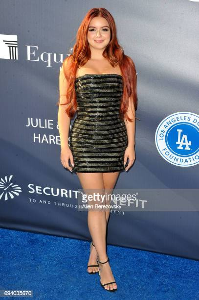 Actress Ariel Winter attends Los Angeles Dodgers Foundation's 3rd Annual Blue Diamond Gala at Dodger Stadium on June 8 2017 in Los Angeles California
