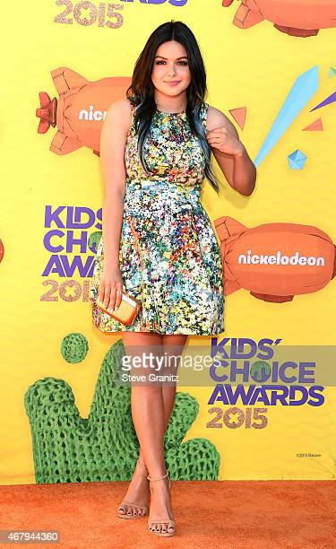 Actress Ariel Winter attends Nickelodeon's 28th Annual Kids' Choice Awards held at The Forum on March 28 2015 in Inglewood California