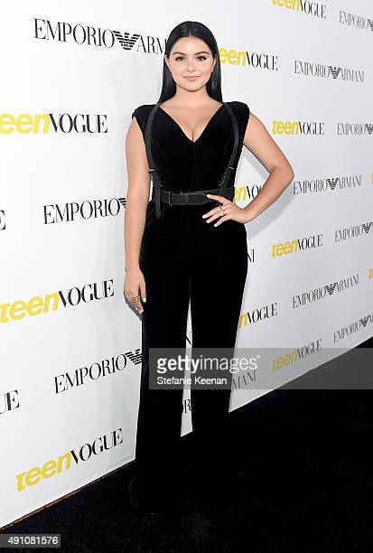 Actress Ariel Winter attends Teen Vogue Celebrates the 13th Annual Young Hollywood Issue with Emporio Armani on October 2 2015 in Beverly Hills...
