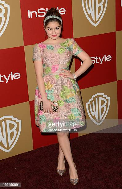 Actress Ariel Winter attends the 14th Annual Warner Bros And InStyle Golden Globe Awards After Party held at the Oasis Courtyard at the Beverly...