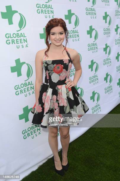 Actress Ariel Winter attends the 16th Annual Global Green USA Millennium Awards held at Fairmont Miramar Hotel on June 2 2012 in Santa Monica...