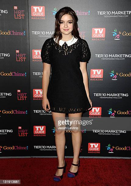 Actress Ariel Winter attends the 2011 TV Guide Magazine Hot List Party at Greystone Manor Supperclub on November 7 2011 in West Hollywood California