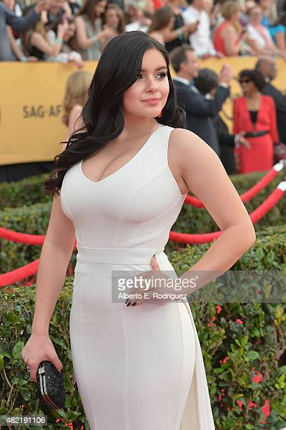 Actress Ariel Winter attends the 21st Annual Screen Actors Guild Awards at The Shrine Auditorium on January 25 2015 in Los Angeles California