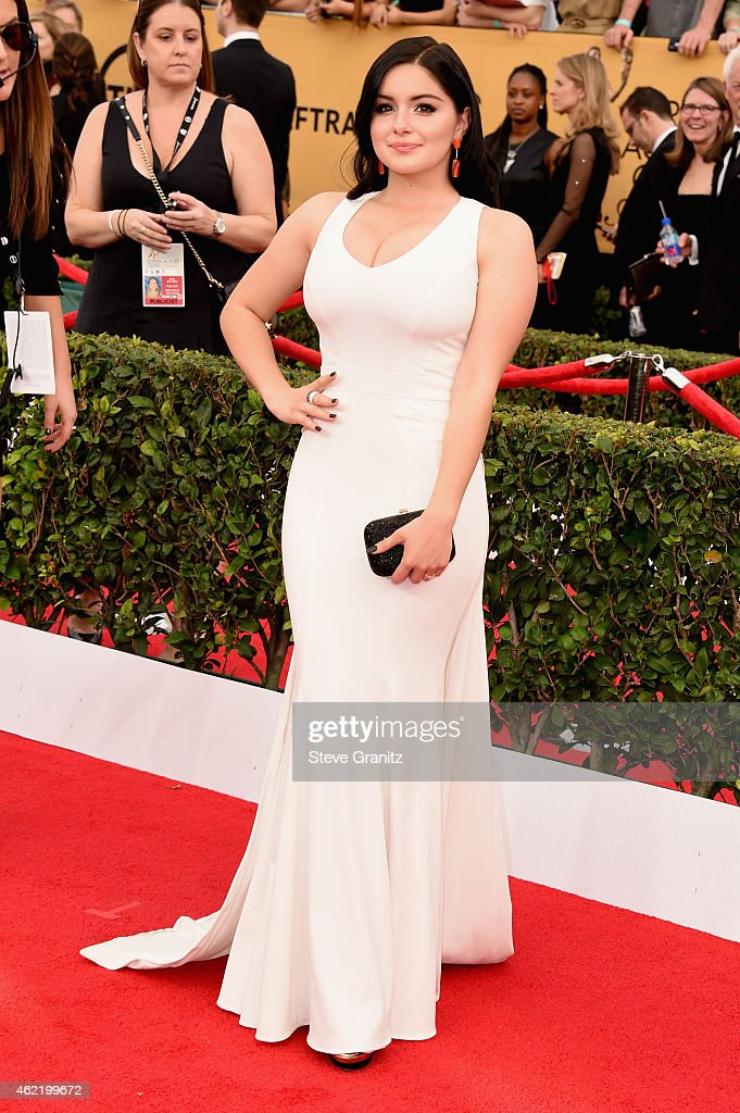 Actress Ariel Winter attends the 21st Annual Screen Actors Guild Awards at The Shrine Auditorium on January 25, 2015 in Los Angeles, California.