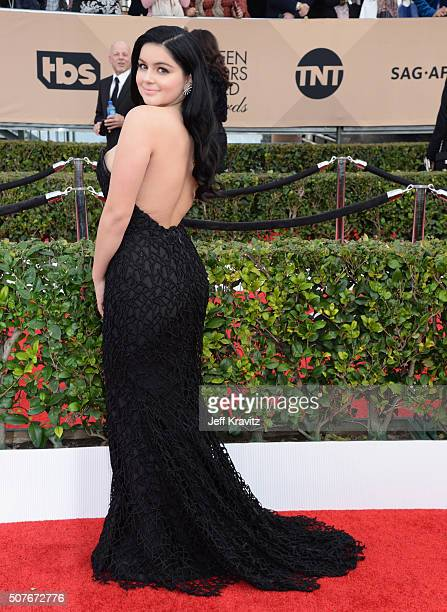 Actress Ariel Winter attends the 22nd Annual Screen Actors Guild Awards at The Shrine Auditorium on January 30 2016 in Los Angeles California