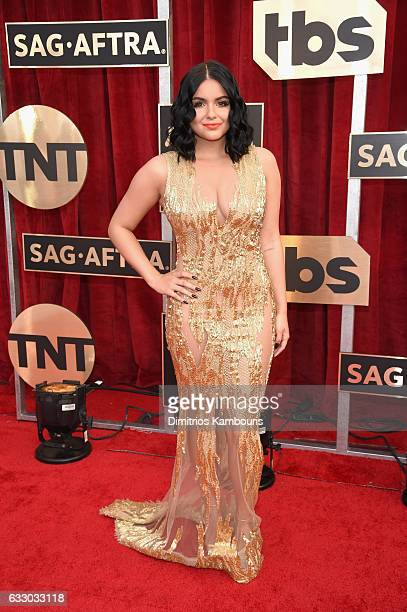 Actress Ariel Winter attends The 23rd Annual Screen Actors Guild Awards at The Shrine Auditorium on January 29 2017 in Los Angeles California...