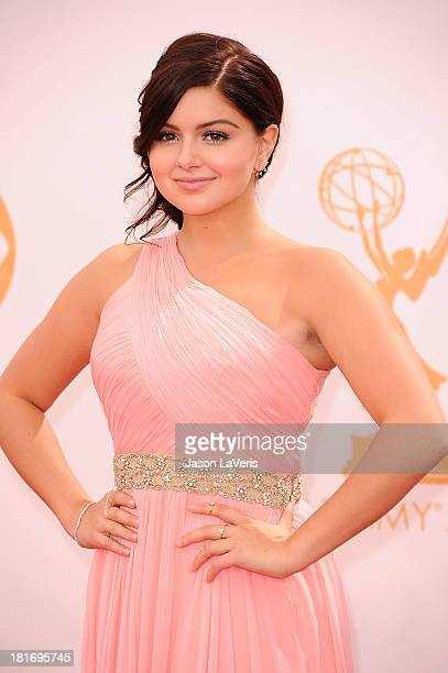 Actress Ariel Winter attends the 65th annual Primetime Emmy Awards at Nokia Theatre LA Live on September 22 2013 in Los Angeles California
