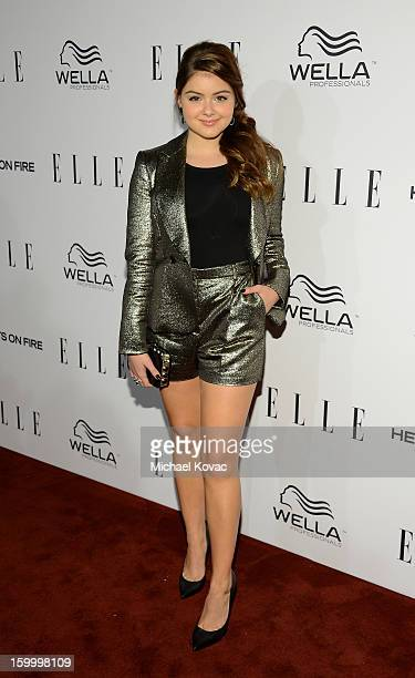 Actress Ariel Winter attends the ELLE's Women in Television Celebration at Soho House on January 24 2013 in West Hollywood California