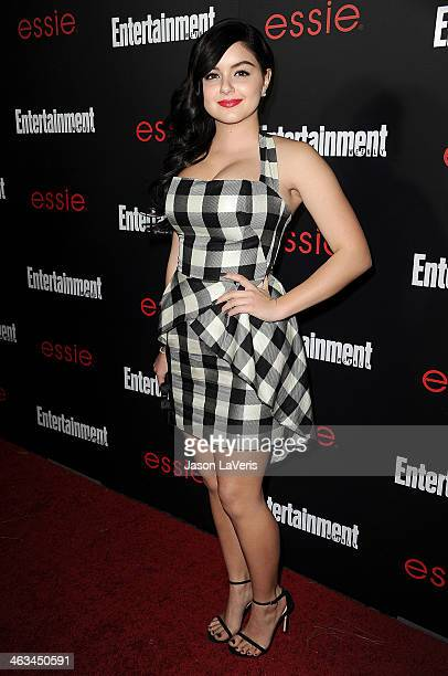 Actress Ariel Winter attends the Entertainment Weekly SAG Awards preparty at Chateau Marmont on January 17 2014 in Los Angeles California