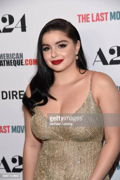 Actress Ariel Winter attends the Los Angeles premiere of 'The Last Movie Star' at the Egyptian Theatre on March 22 2018 in Hollywood California