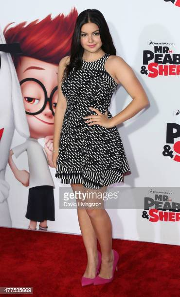 Actress Ariel Winter attends the premiere of Twentieth Century Fox and DreamWorks Animation's 'Mr Peabody Sherman' at the Regency Village Theatre on...