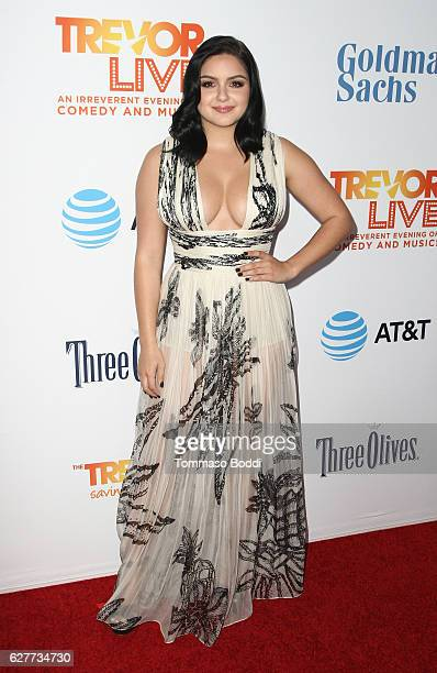 Actress Ariel Winter attends The Trevor Project's 2016 TrevorLIVE LA at The Beverly Hilton Hotel on December 4 2016 in Beverly Hills California