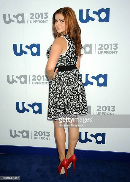Actress Ariel Winter attends the USA Network 2013 Upfront event at Pier 36 on May 16 2013 in New York City