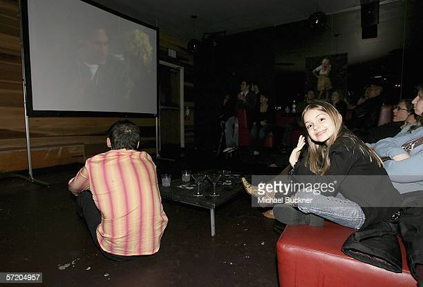 Actress Ariel Winter attends the VH1 'So noTORIous' Screening Party at Jimmy's Lounge on March 28 2006 in Hollywood California