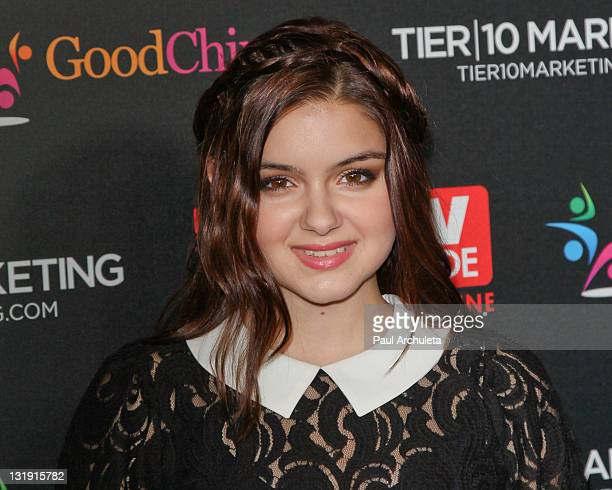 Actress Ariel Winter attends TV Guide magazineÕs annual Hot List Party at Greystone Manor Supperclub on November 7 2011 in West Hollywood California