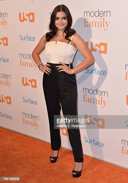 Actress Ariel Winter attends USA Network's Modern Family fan appreciation day at Westwood Village on October 28 2013 in Los Angeles California