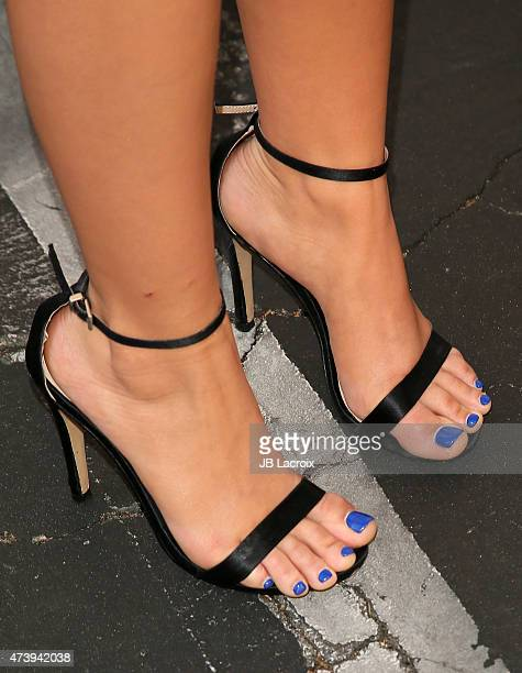 Actress Ariel Winter Shoe Detail attends the ATAS Screening of the 'Modern Family' Season Finale 'American Skyper' at the Fox Studio Lot on May 18...