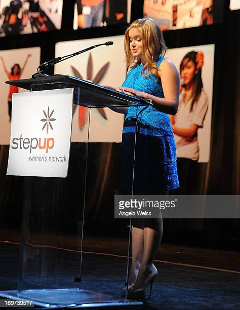 Actress Ariel Winter speaks at Step Up Women's Network 10th annual Inspiration Awards at The Beverly Hilton Hotel on May 31 2013 in Beverly Hills...