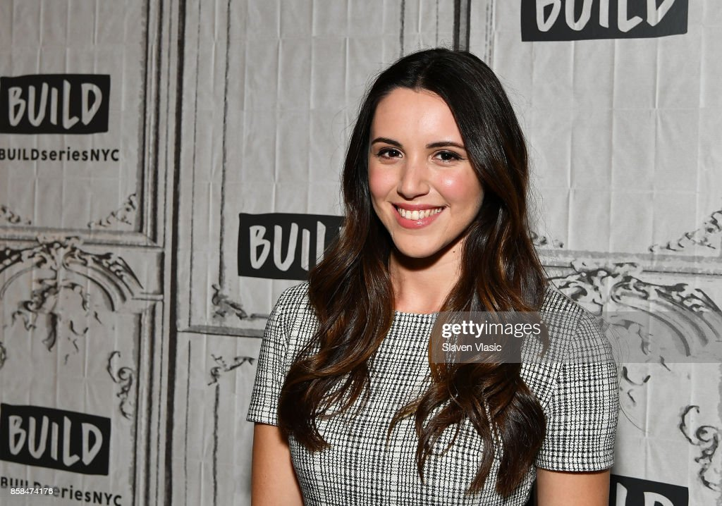 Actress Arielle Carver-O'Neill visits Build to discuss 'Ash Vs Evil Dead' at Build Studio on October 6, 2017 in New York City.