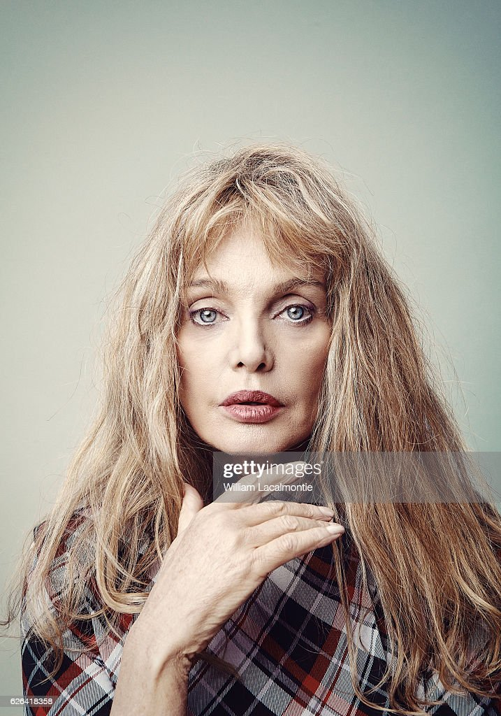 Actress Arielle Dombasle is photographed for Noisey on September 20, 2016 in Paris, France