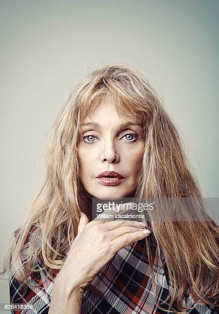 Actress Arielle Dombasle is photographed for Noisey on September 20 2016 in Paris France