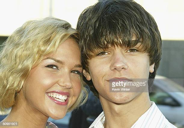 Actress Arielle Kebbel and brother Christian attend the premiere of the MGM film DeLovely at the Academy of Motion Pictures Arts and Sciences June 11...