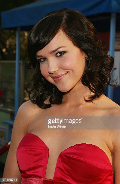 Actress Arielle Kebbel arrives at the premiere of Columbia Pictures' The Grudge 2 at Knott's Scary Farm on October 8 2006 in Buena Park California
