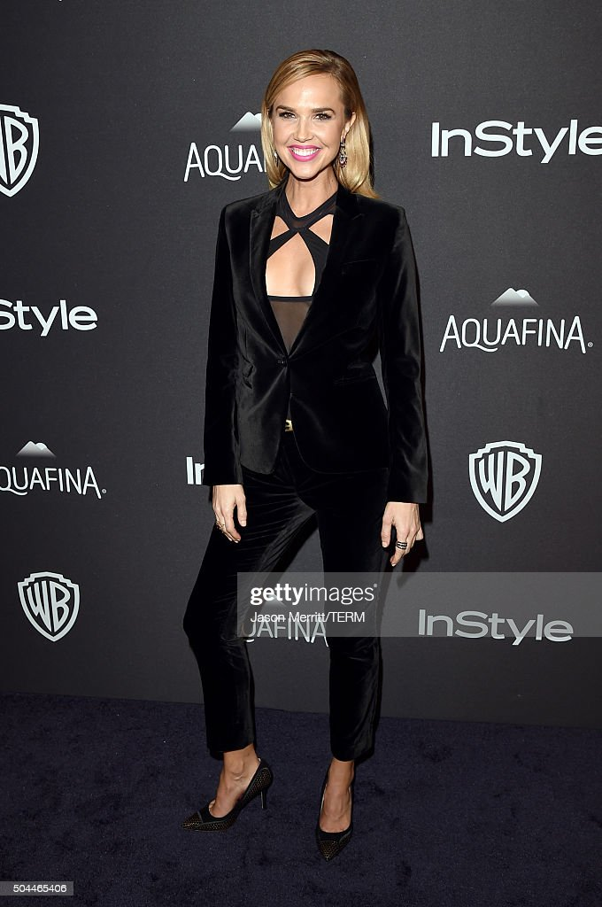 Actress Arielle Kebbel attends The 2016 InStyle And Warner Bros. 73rd Annual Golden Globe Awards Post-Party at The Beverly Hilton Hotel on January 10, 2016 in Beverly Hills, California.