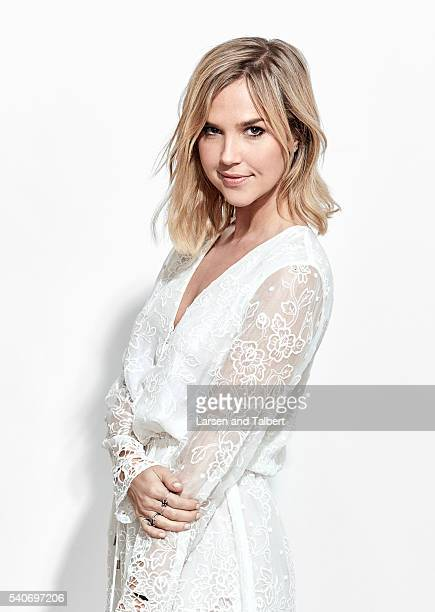 Actress Arielle Kebbel is photographed for Entertainment Weekly Magazine at the ATX Television Fesitval on June 10 2016 in Austin Texas