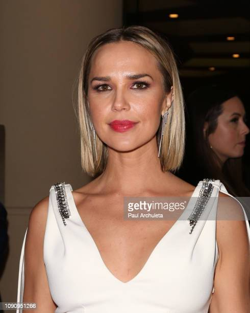 Actress Arielle Kebbel is seen in Beverly Hills on January 06 2019 in Los Angeles California